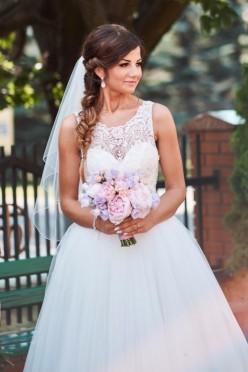 Zjawiskowa suknia ślubna SiSi
