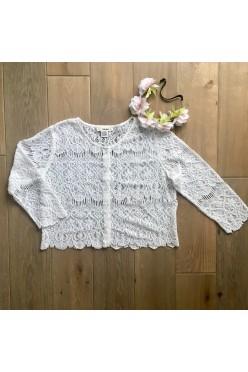 Narzutka / koronkowy sweterek