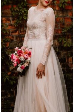 Unikalna suknia ślubna, Sylwia Kopczyńska, kolekcja 2017