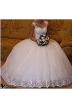 Suknia ślubna 34/36 princesska