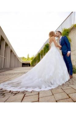 Romantyczna suknia Allure Bridals 2017