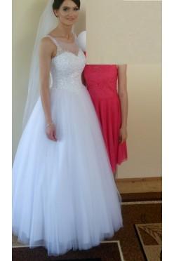 suknia ślubna model princessa