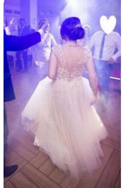 Piękna suknia projektu Justyny Kodym model Jasmine WW-A