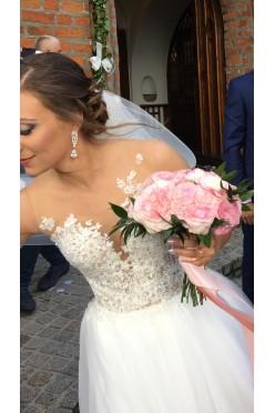 Suknia ślubna Milla Nova chelsi IVORY