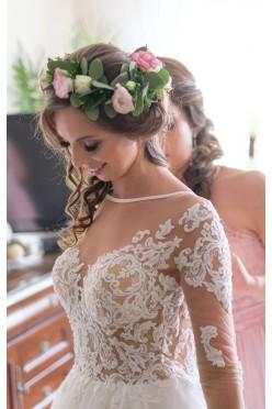 Zjawiskowa Suknia ślubna LORENZO ROSSI 2017 model LAMIS