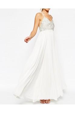 ASOS PETITE śliczna sukienka na ślub i wesele