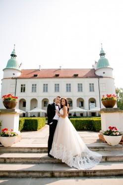 Suknia ślubna Mirelii- Ambrozja.