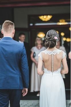 Suknia ślubna, model Lara, rozmiar 34
