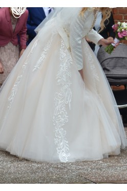 Wyjątkowa suknia ślubna! + Gratisy!