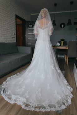 Suknia ślubna Justin Alexander 8701, kolor Ivory, rozm. 36