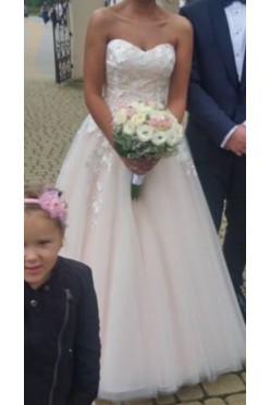 Suknia ślubna wyjątkowa piękna
