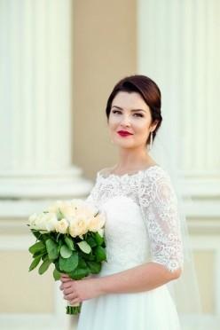 Suknia ślubna śmietankowa Eldorado od Margarett