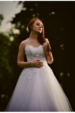 Suknia ślubna MS MODA z kolekcji 2017
