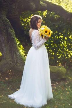 Suknia ślubna Patrycja Pardyka + welon i dodatki