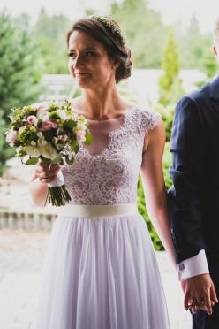 Suknia ślubna z salonu Sabe, model Peony