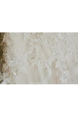 Suknia ślubna MS Moda Lavinia rozmiar 36/38 + długi welon