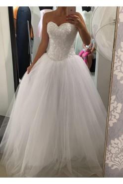 Suknia ślubna princessa, księżniczka