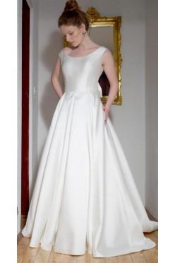 Klasyczna, ponadczasowa i elegancka suknia ślubna