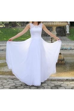 Śliczna i wygodna sukienka ślubna