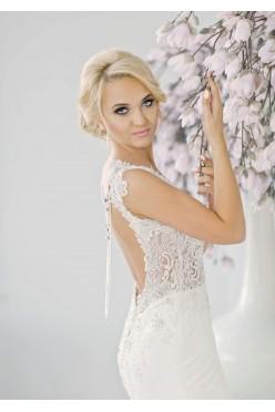Suknia ślubna koronkowa Patrycja Pardyka