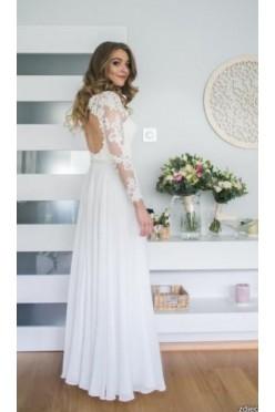 Przepiękna, elegancka suknia ślubna z salonu