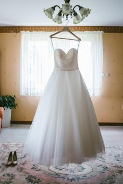 Suknia ślubna Allure Romance, model 2853, kolor ivory