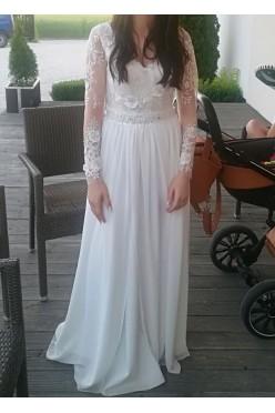 Suknia ślubna. Rozmiar 34 (XS)