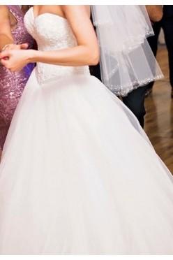Suknia slubna 'princesska'