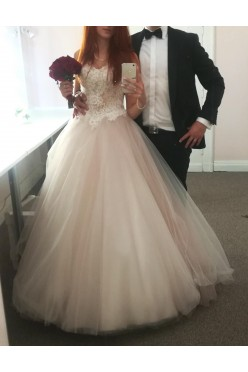 Piękna Suknia Ślubna - kolekcja MS MODA 2018