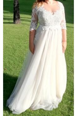 Oryginalna suknia ślubna stylizowana na Maggio Ramatti Kasey