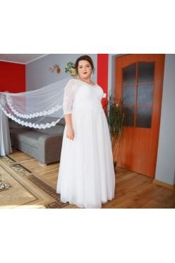 Suknia ślubna plus size 46-48-50