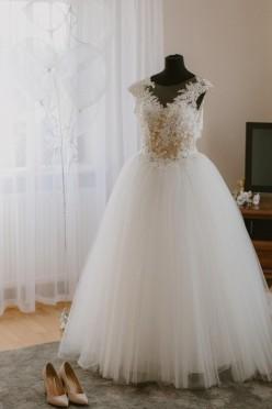 Suknia ślubna La Sposa Halar roz. 34