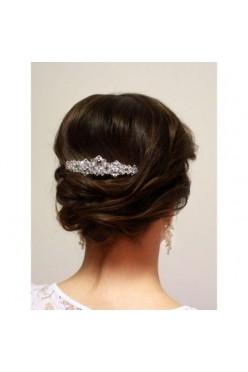 Ozdoba do włosów grzebyk z kryształami swarovskiego
