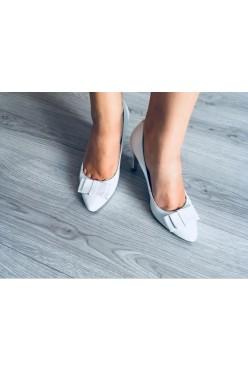 buty - czółenka ślubne