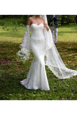 Przepiękna, koronkowa suknia ślubna Lillian West