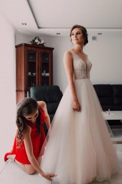 Suknia ślubna Laila Pilar rozmiar 36