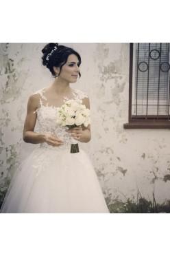 Romantyczna suknia ślibna !
