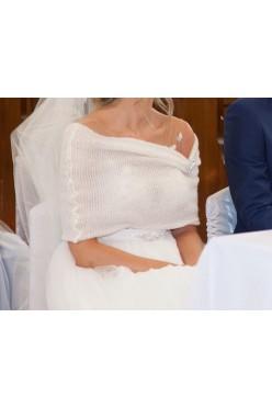 Bolerko na suknie ślubną