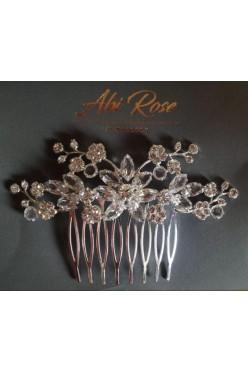 Grzebyk ślubny do włosów Abi rose nowy