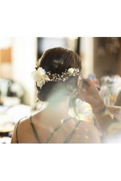 Pół wianek, ozdoba do włosów Łucja Zając Atelier