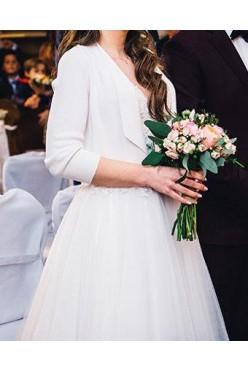 Suknia ślubna Stella York + bolerko