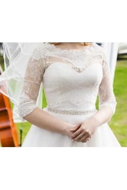 Suknia ślubna Moonlight T682 36/38, IVORY, GORSET, princess