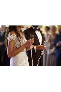 Sukienka ślubną Agnieszki Światły Clarissa