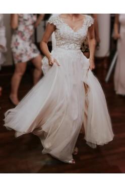 Suknia ślubna Herm's Bridal model Barton rozmiar 32
