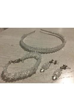 ślubna biżuteria swarovski