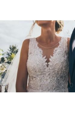 Piękna suknia ślubna Agnes TO-786 The One 2018 r. 34