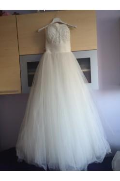 Suknia ślubna kolor ivory rozmiar 34