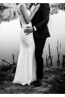 Na sprzedaż piękna, subtelna suknia ślubna 34/36!!!