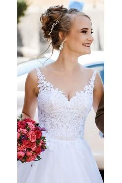 Sprzedam suknię ślubną Gala Akemi, zajwiskowa,biała