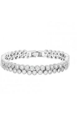 Biżuteria ślubna (kolczyki i bransoletka)